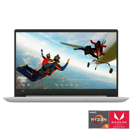 "Lenovo Ideapad 330s 15.6"" Laptop, Windows 10, AMD Ryzen 5 2500U Quad-Core Processor, 8GB Memory, 256GB Storage, Platinum Grey - 81FB00HKUS"