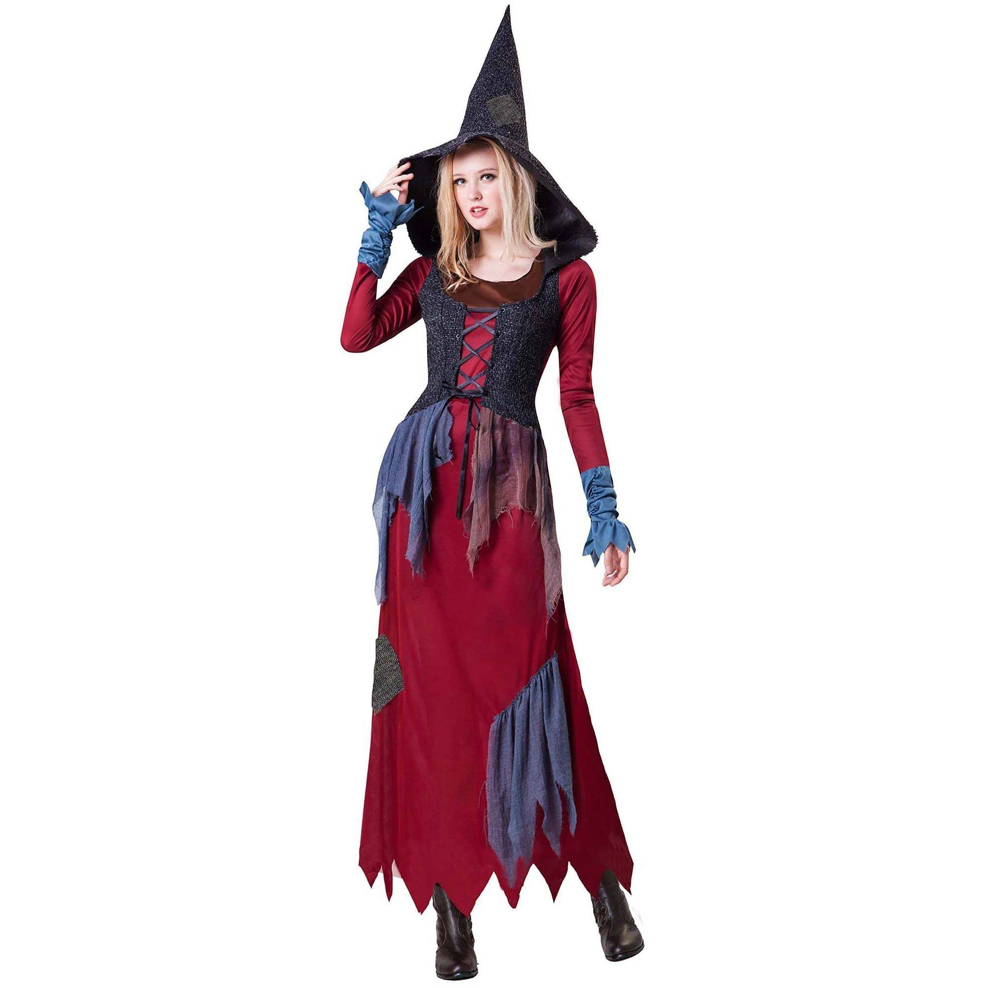 Rag Witch Adult Halloween Costume