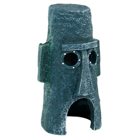 Penn Plax SpongeBob Homes Assorted Aquarium Decoration (Decoration May Vary) - Oklahoma Aquarium Halloween