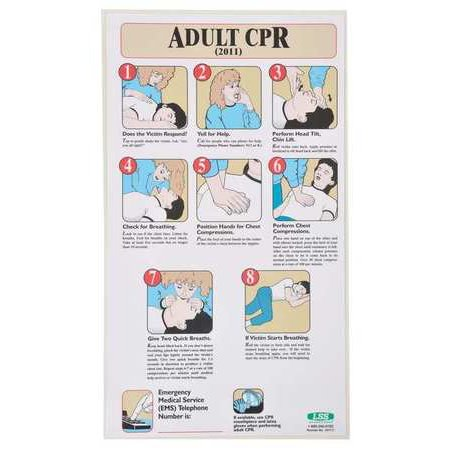 ACCUFORM SIGNS 197717 First Aid Poster, 19-1/2 x 11In