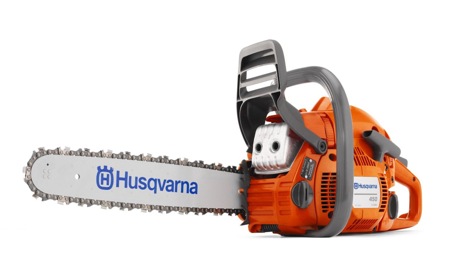 "Husqvarna 450 Rancher w  18"" Bar 50.2cc Gas Powered Chainsaw w  Smart Start Refurbished by Husqvarna"