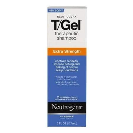 Neutrogena T Gel Shampoo Extra Strength For Dandruff Seborrheic Dermatitis 6oz