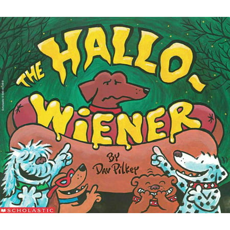 The Hallo-Wiener (Paperback) - Wiener Dog Halloween Book