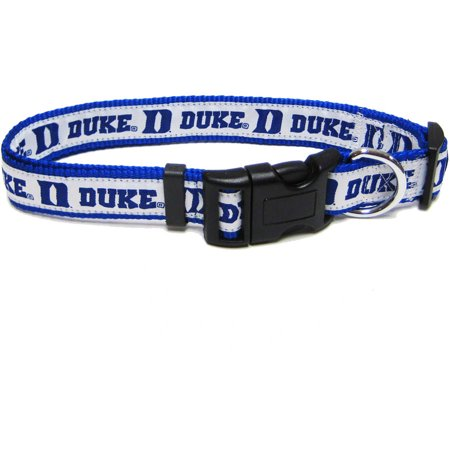 Pets First College Duke Blue Devils Pet Collar, 3 Sizes Available, Sports Fan Dog Collar