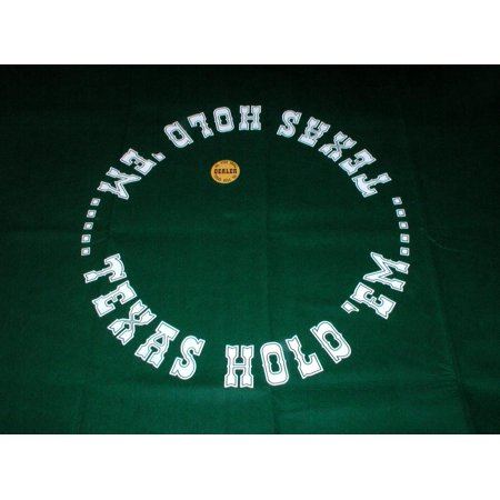 Texas Hold'Em Layout w/Button New