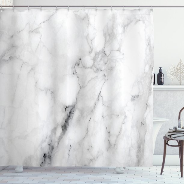 Marble Shower Curtain Surface, Marble Bathroom Set With Shower Curtain