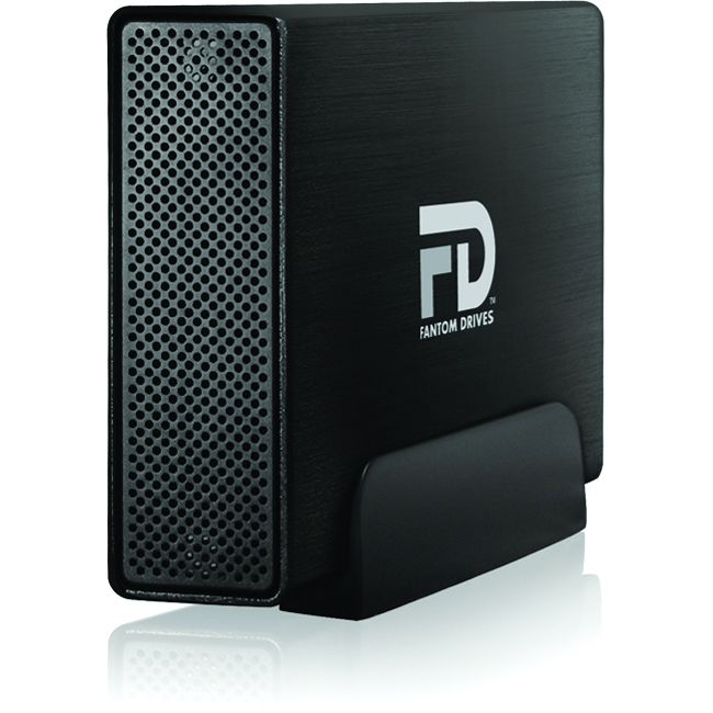 MicroNet - GF3B4000UP - Fantom Drives Gforce/3 Pro 4 TB 3.5 External Hard Drive - USB 3.0 - 7200rpm - 32 MB Buffer -