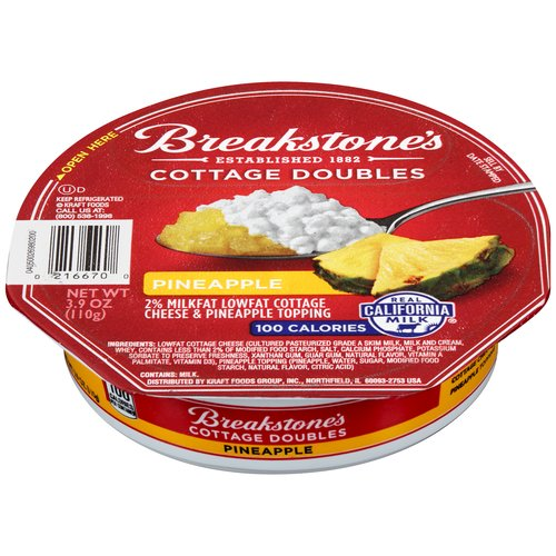 breakstones 100 calorie pineapple cottage doubles 3 9 oz