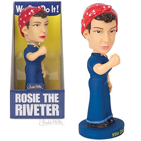 Rosie the Riveter Bobblehead Doll