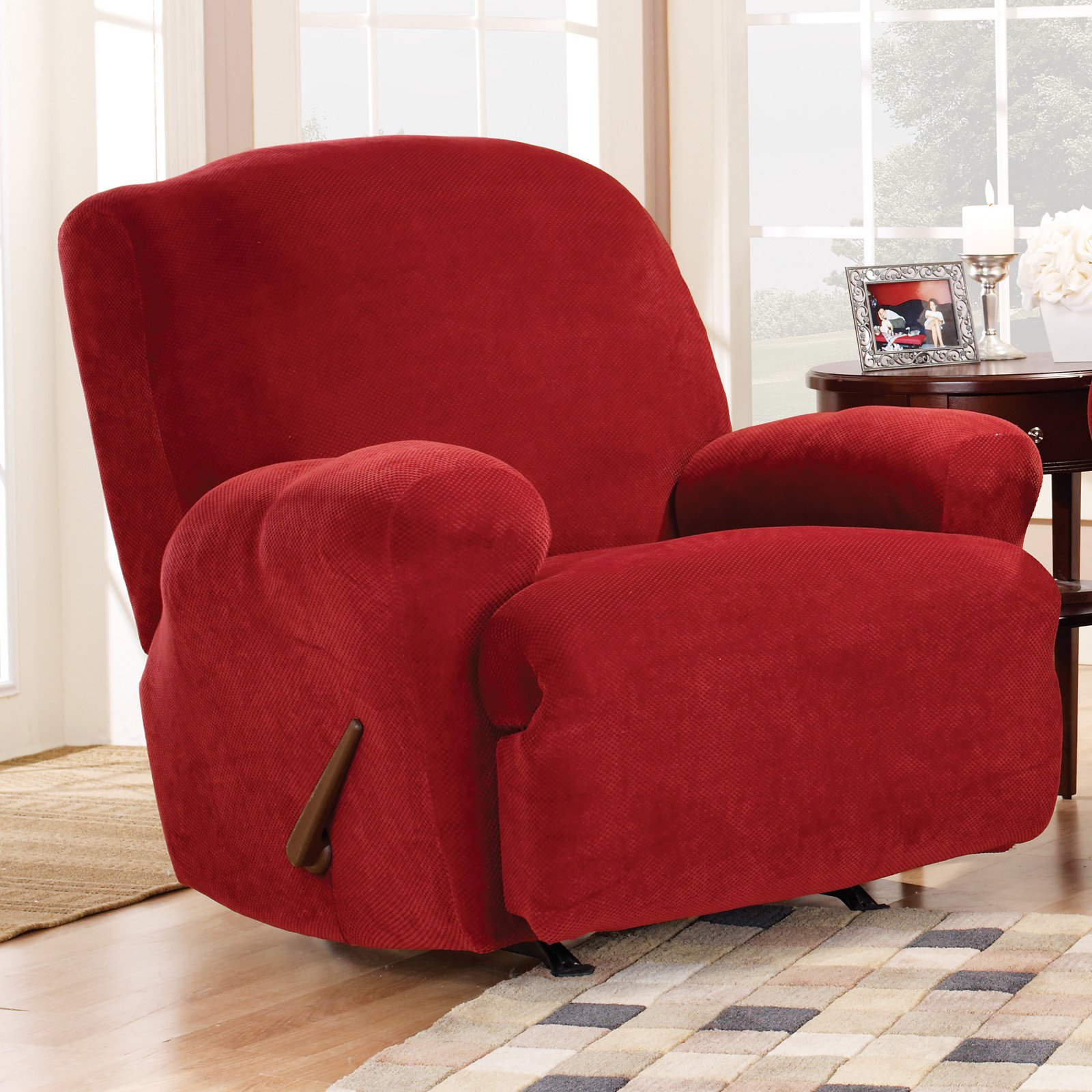 Sure Fit Stretch Pique Lift Recliner Slipcover 7b42f4b640db
