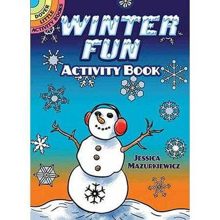 Winter Preschool Crafts (Winter Fun Activity Book)
