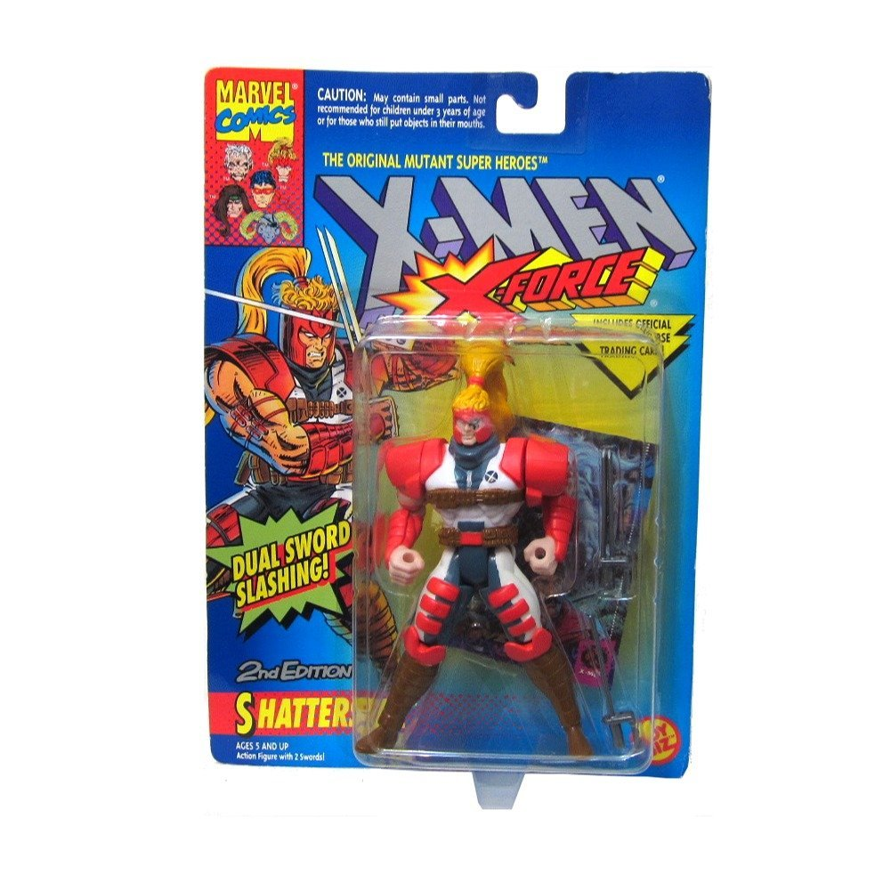 X-Men: X-Force Shatterstar #2 Action Figure, Shatterstar 2nd Edition Action Figure Rare By X Men by