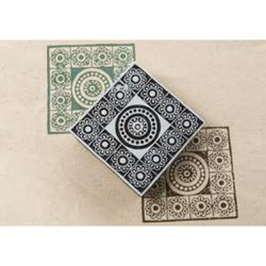 Blockwallah Block Stamp, Maharaja Multi-Colored