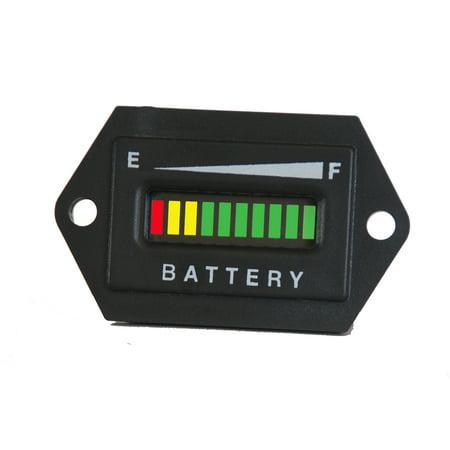 PRO36FRCX ProPower's Battery Status Indicator Meter Gauge for 36 VDC systems ()