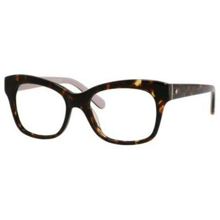 Kate Spade Tortoise Shell Eyeglass Frames : KATE SPADE Eyeglasses STANA 0W96 Tortoise 52MM - Walmart.com