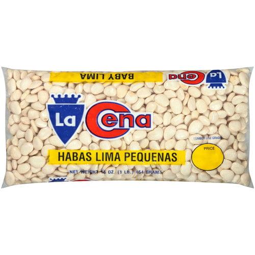 La Cena Baby Lima Beans, 16 oz
