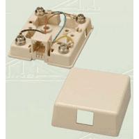 Allen Tel Products AT468-6-EI SRFC JACK 6C ELEC IVORY