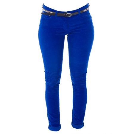 Belted Corduroy Pant (Scotch & Soda Maison Scotch Women's Belted Skinny Corduroys)