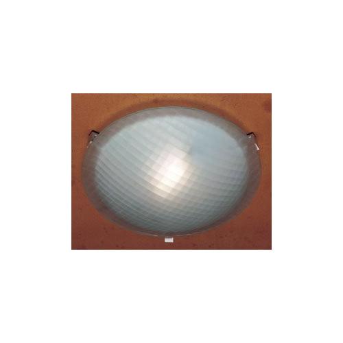 "Valencia Ceiling Light-Finish:White,Light:Halogen,Size:12"" W x 3.5"" H"