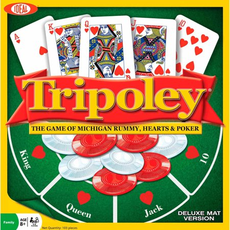 Ideal Tripoley Deluxe Mat Edition Card Game - Halloween Math Ideas For Preschoolers