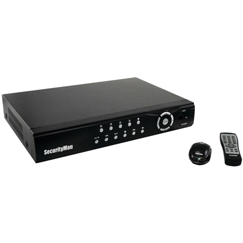 Securityman NDVR8-1TB 8-Channel 1TB Network DVR System