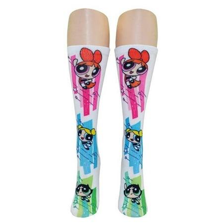 Powerpuff Girls 360 Crew Socks](Powerpuff Girls Feet)