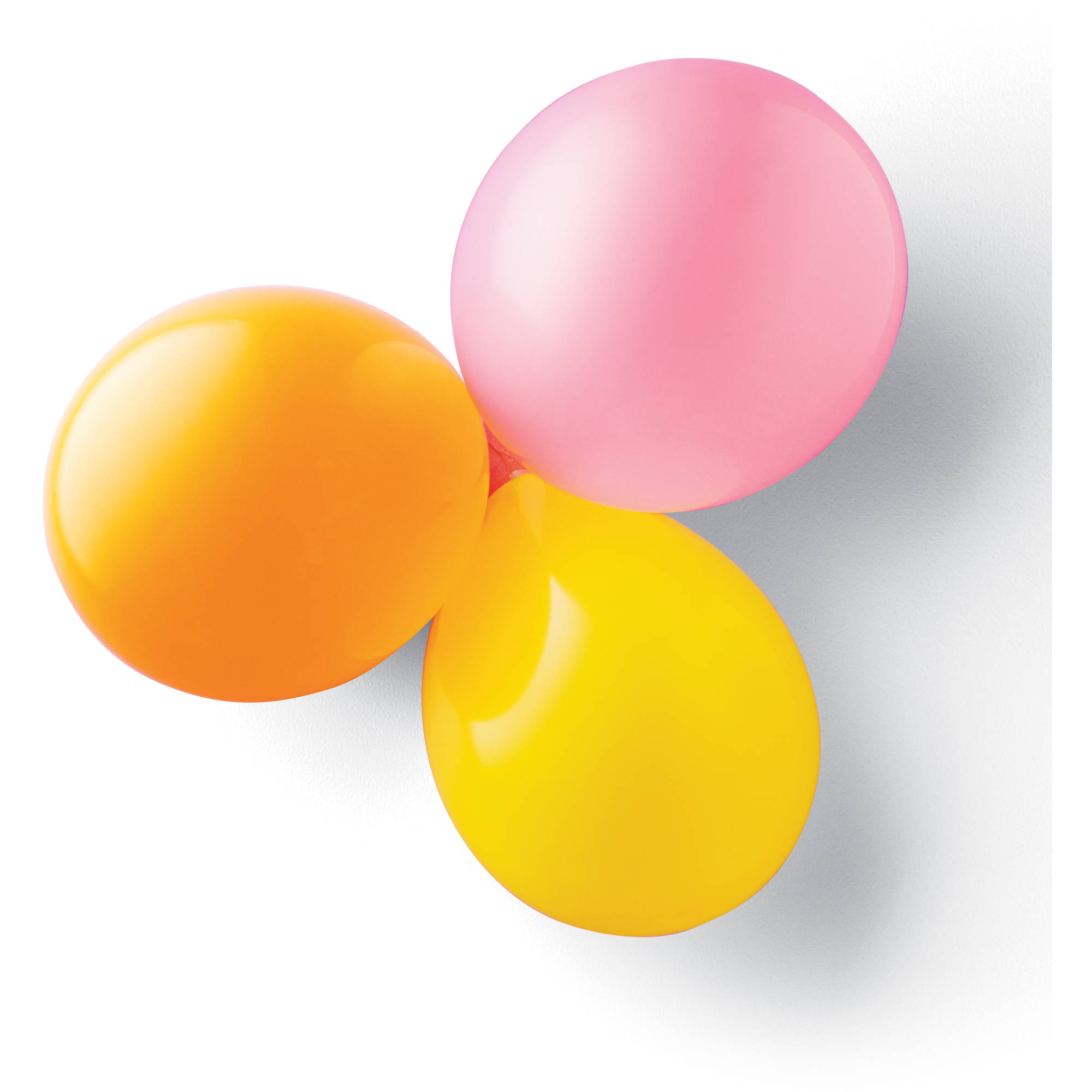 Command Party Balloon Bunchers, Clear, 3 Bunchers, 4 Strips/Pack ...