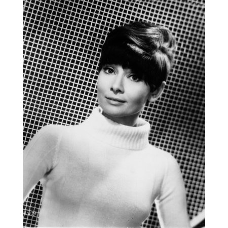 Audrey Sweater (Audrey Hepburn posed in White Sweater Print Wall Art By Movie Star News )