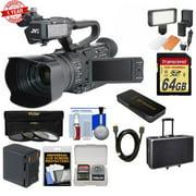 JVC GY:HM170 4KCAM Compact Professional Camcorder Bundle