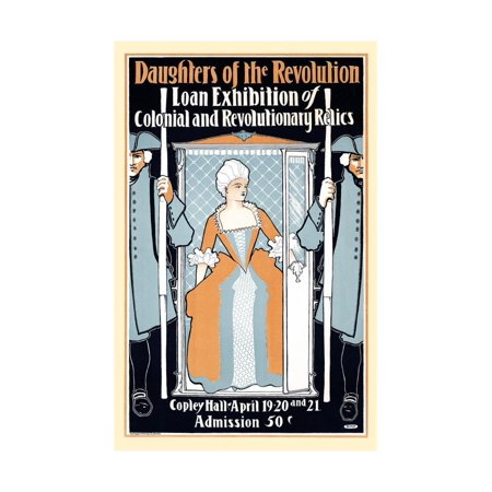 Daughters of the Revolution Loan Exhibition of Colonial and Revolutionary Relics Print Wall Art By Elisha Brown - Colonial Bird
