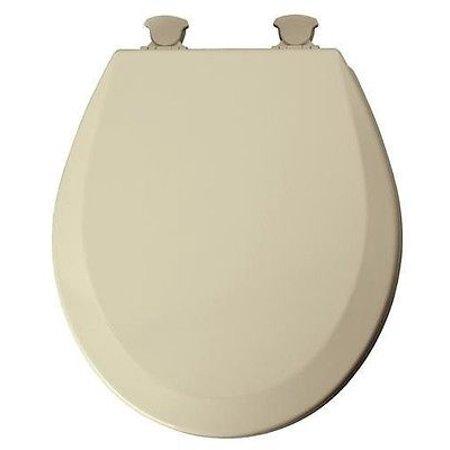 Bemis 46ecdg 006 Bone Molded Wood Toilet Seat W Easy Clean Change Hinges