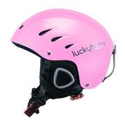 Lucky Bums Snow Sport Metallic Pink Helmet