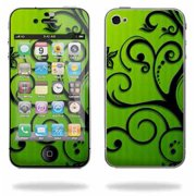 Mightyskins Apple iPhone 4 or iPhone 4S AT&T or Verizon 16GB 32GB Cell Phone wrap sticker skins Floral Flourish