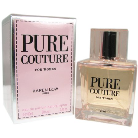 New Couture Collection (Pure Couture Perfume for Women by Karen Low - 3.4 oz Eau De Parfum Spray (New In)