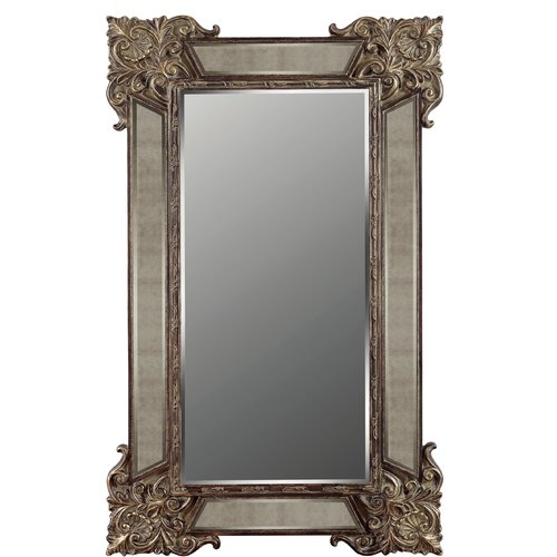 Galaxy Home Decoration Domingo Full Length Floor Mirror by Galaxy Home Decor