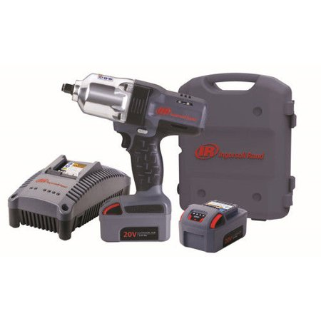 Ingersoll Rand W7150 K2 20V 3 0 Ah Cordless Lithium Ion 1 2 In  High Torque Impact Wrench With 2 Batteries