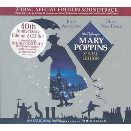 Mary Poppins Soundtrack (CD) (Digi-Pak) - Halloween 6 Producer's Cut Soundtrack