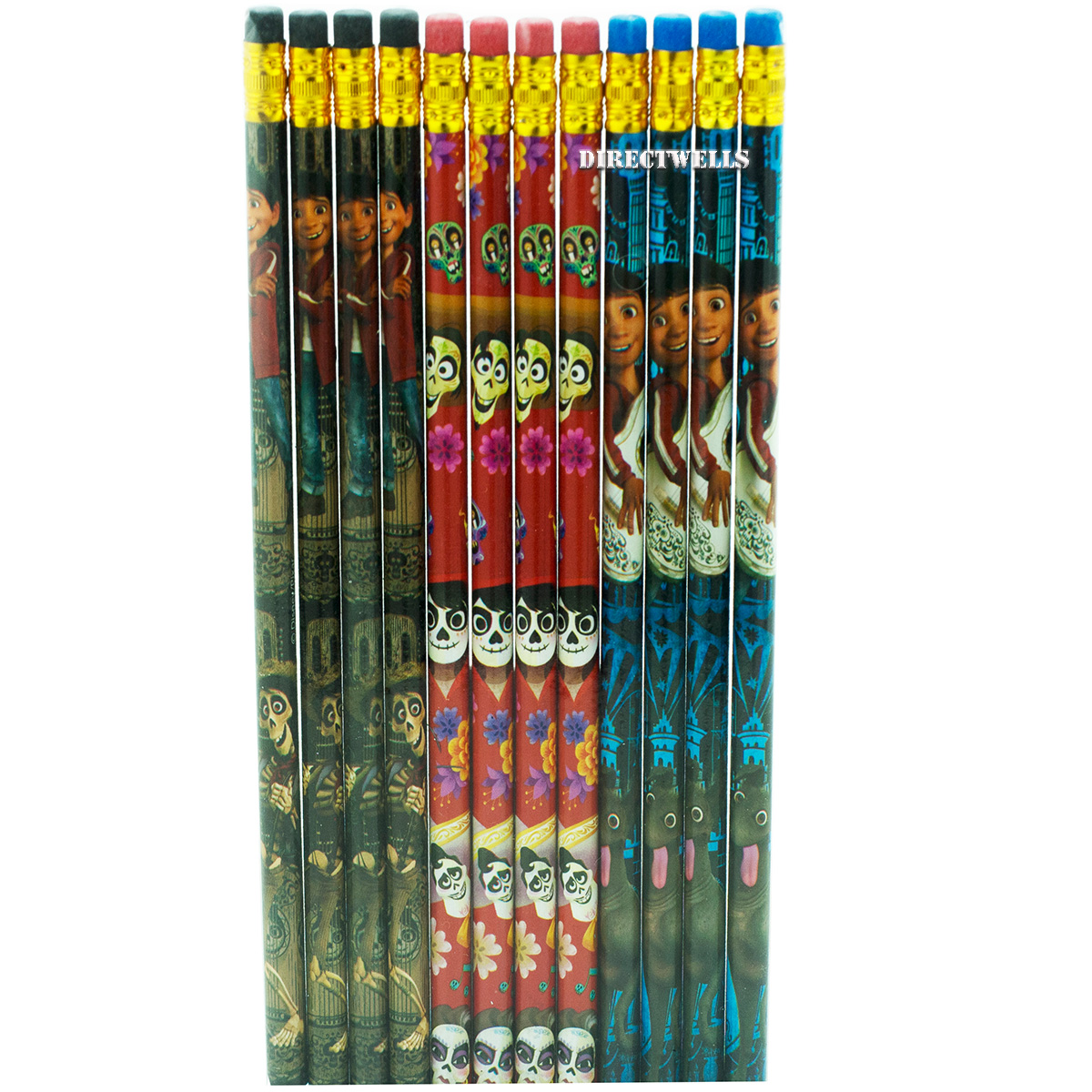 Disney Coco 12 Wood Pencils Pack