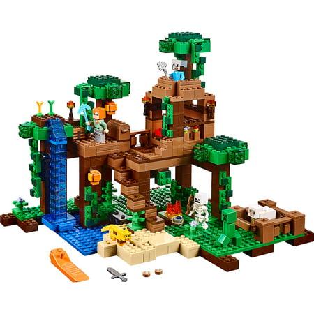 LEGO Minecraft The Jungle Tree House 21125 - Girls In Minecraft