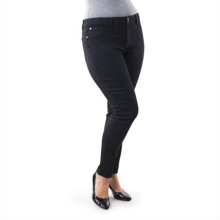 Jordache Women's Plus Size Super Skinny Jeggings
