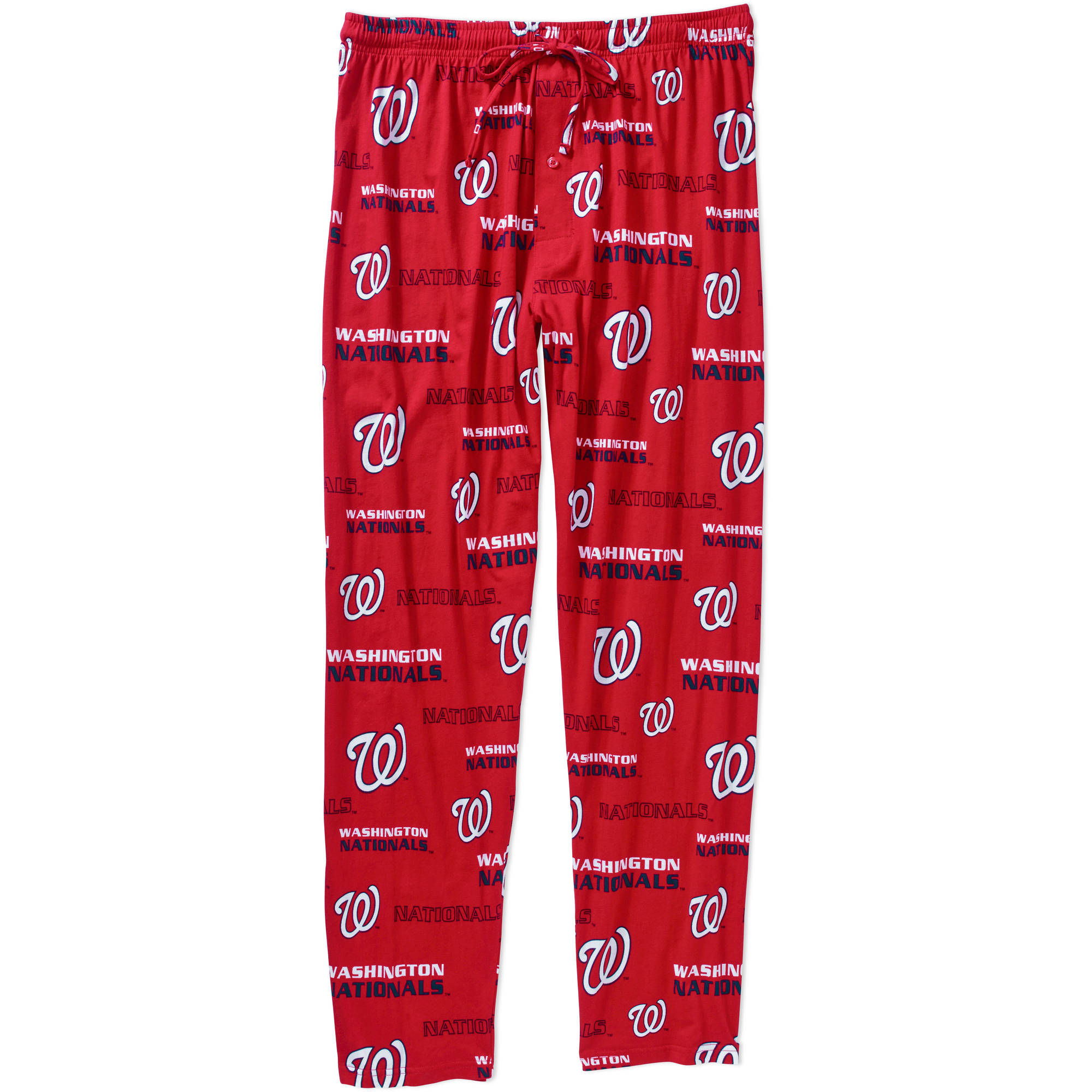 MLB Men's Washington Nationals Knit Sleep Pants