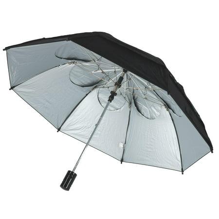 GustBuster Metro SunBLOK Auto Open UV Protected Vented Compact Umbrella - image 2 de 4