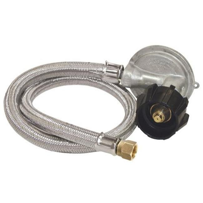 Bayou Classic M5LPH Stainless Steel 30 Inch LP Hose - 1 PSI - for GRILLS