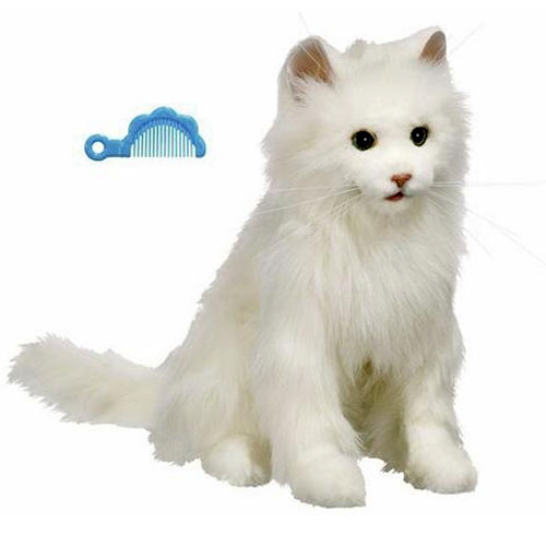 Fur Real Friends Kitty Cat White