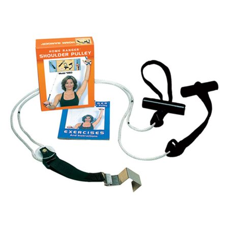 pre pak products ppk10892 ranger 92 shoulder pulley with assisted grip handles & metal bracket door anchor