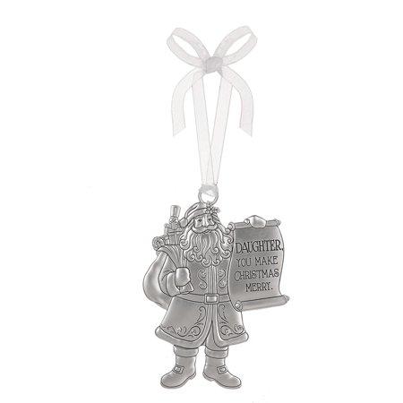 Ganz Santa's Ornament Daughter You Make Christmas Mer](Make Your Own Christmas Ornaments)