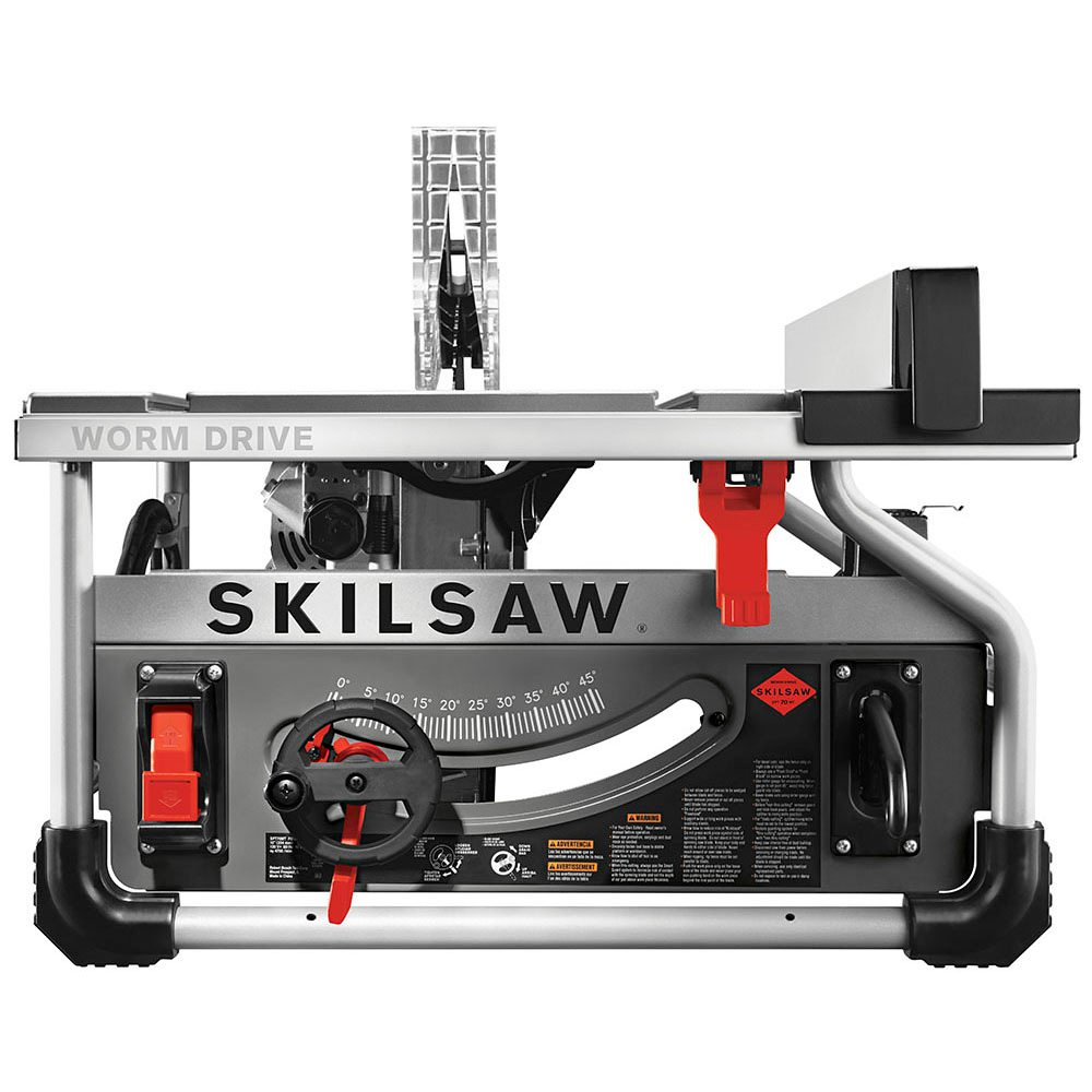 10 In. Portable Worm Drive Table Saw (SKILSAW Blade) by Chervon