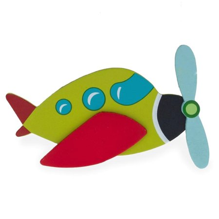 Wooden Air Plane Cut Out 4.75 Inches](Grinch Wooden Cut Out)
