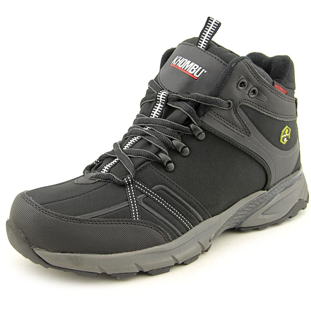 Khombu Wager Men  Round Toe Canvas  Hiking Shoe