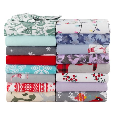 Mainstays Queen Flannel Sheet Set, Polar Bears